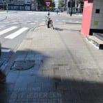 straatreclame reverse graffiti