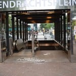 krijt graffiti subway eendrachtsplein metrostation rotterdam
