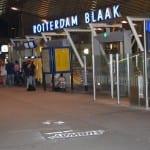 rotterdam blaak krijt graffiti metrostation