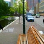 Jamie's Italian Den Haag krijt graffiti