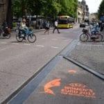 EK voetbal voor vrouwen duurzame krijt graffiti uitingen