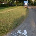 Gemeente Lingewaal krijt graffiti