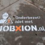 Tijdelijke krijt Jobxion
