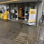 Gemeente Helmond reverse graffiti corona