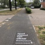 Gemeente Helmond krijt graffiti corona