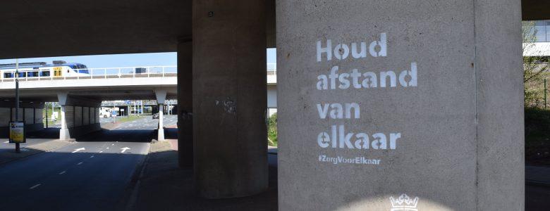 Gemeente Schiedam - Corona - tijdelijke krijt